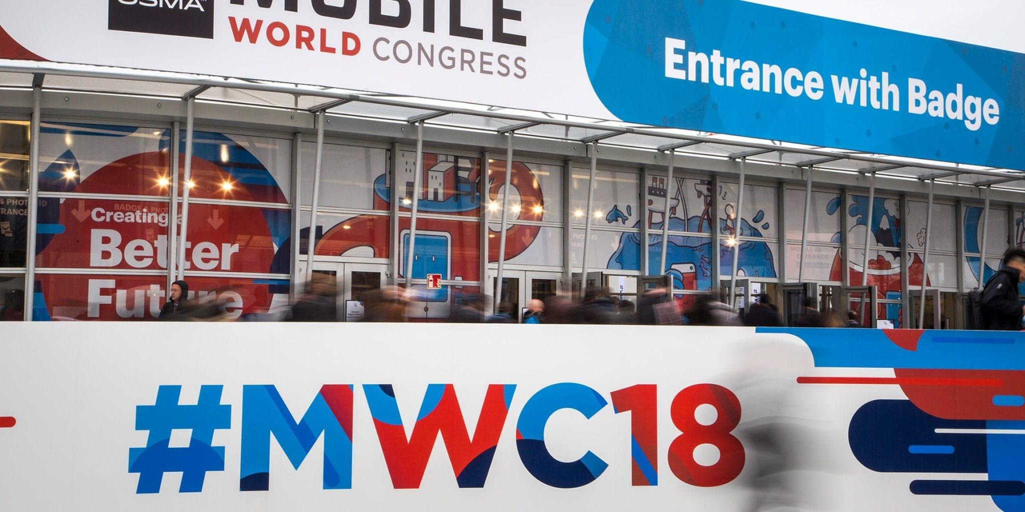 Mobile World Congress 18 photograph by Konnect via Eutelsat